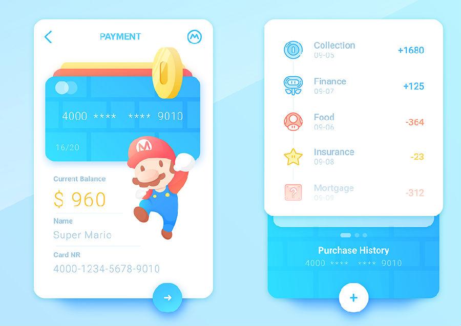 电商类支付界面UI设计