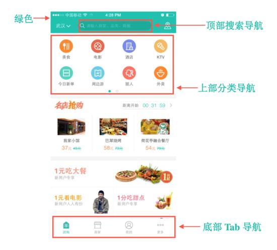 外卖类APP UI/交互设计