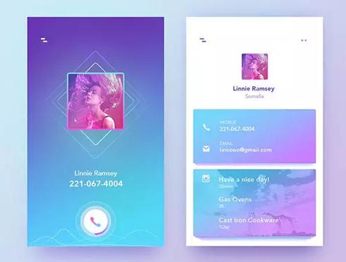 个人app会员中心界面设计